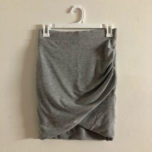 Zara Crossover Mini Skirt Sexy Fancy Stretchy EUC